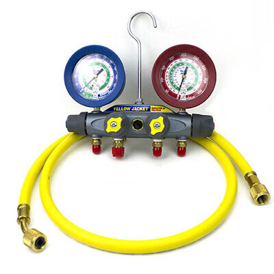 Yellow Jacket 46022 Brute Ii Test Charge Manifoldfc Rb Gauge