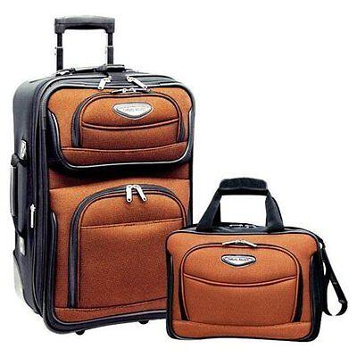 Travel Select Orange Amsterdam 2-Piece Carry-on 21