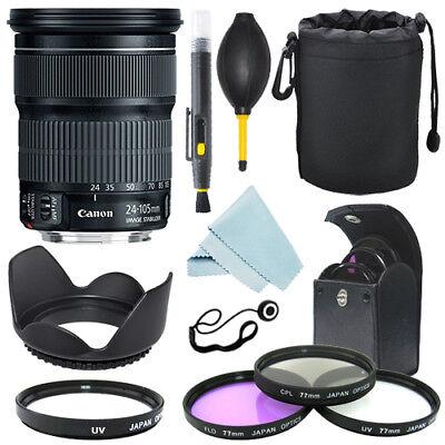 Canon EF 24-105mm f/3.5-5.6 IS STM Lens + Filter Kit + Accessory Kit