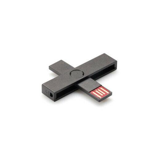 Smart Card Reader Pluss ID Small USB eID Black For Windows Linux Mac OSX eID