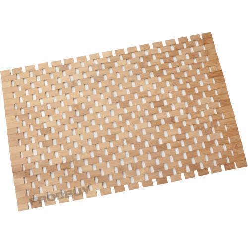 Bamboo Bath Mat Ebay