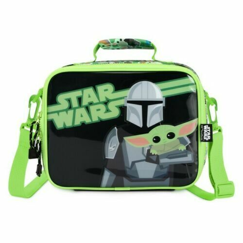 Disney Store Star Wars The Mandalorian Child Baby Yoda Grogu Lunch Tote Bag NWT