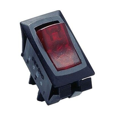 Gardner Bender GSW-42 Appliance Rocker Switch, SPST, ON-OFF