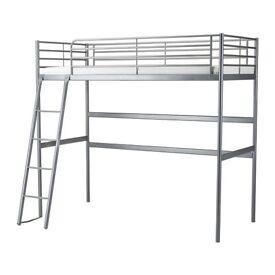 Silver SVÄRTA bunk / loft bed frame