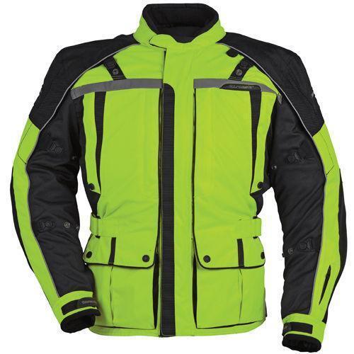 Hi Viz Motorcycle Jacket Ebay