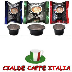 caffe-Borbone-200-Cialde-Capsule-100-Blu-50-Rosse-50-Dek-Compatibili-a-Modo-Mio