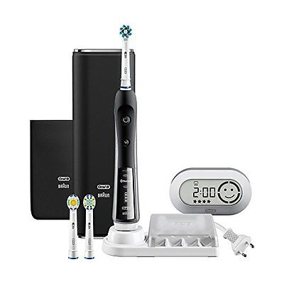 Braun D365356X Black Oral-B Electric Toothbrush Platinum 7000 6 Mode Type Japan