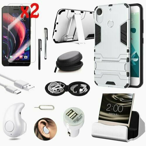 11 in 1 Accessory Case Cover Charger Bluetooth Earphones For