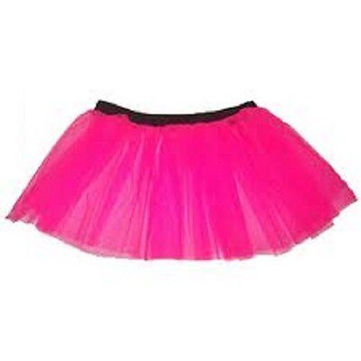 Plus Size Tutu Skirt (Uv Hot Pink Plus size tutu skirt  Petticoat Dance Fancy Party Clubwear)