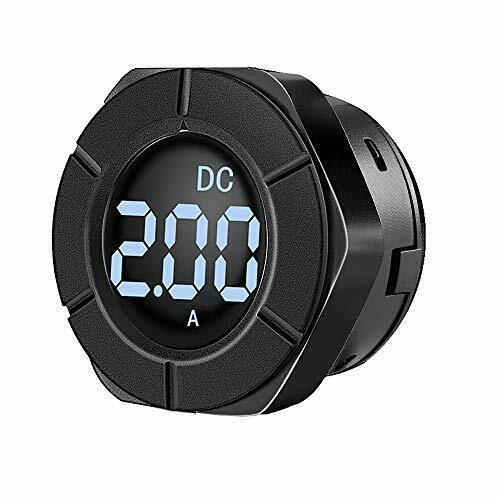 LCD Display Digital Current Ammeter Amp Meter Amperage Monitor Gauge with 100A