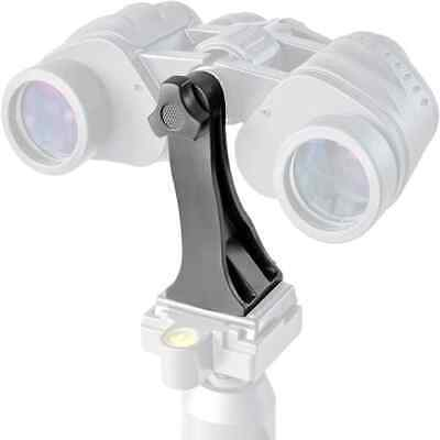 Adaptador universal para tripode binocular prismatico Negro