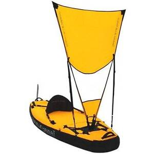 Pahala inflatable single kayak with sail and rudder Kew East Boroondara Area Preview