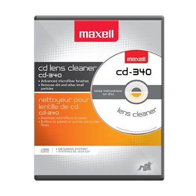Cd Rom Cleaner - Maxell Cd-340 Cd/cd-rom Laser Lens Cleaner (cd340) (190048)