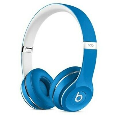 Beats by Dr. Dre Solo2 Wired On-Ear Headphones - Blue (ML9F2AM/A)