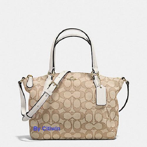 1a03e3f1a3e2 New COACH F57830 F27580 Mini Kelsey Satchel Signature Crossbody Shoulder Bag  CLK
