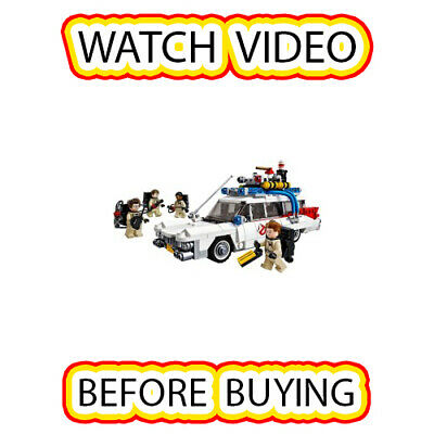 Lego Ghostbusters Ecto-1 Set [itm2] 21108 LEGO Ideas (CUUSOO) / Ghostbusters