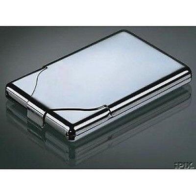 5 x Zigarettenetui ZigarettenVisitenkartenbox Box Visitenkartenetui Etui Metall