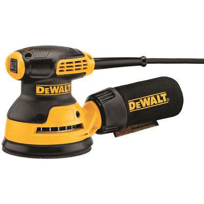 """DEWALT 3 Amp 5"""" Single Speed Random Orbital Sander w/ PSA Pad DWE6420 New"""