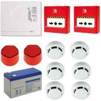 ESP FIRELINE 2 ZONE CONVENTIONAL FIRE ALARM KIT **FLK2P**