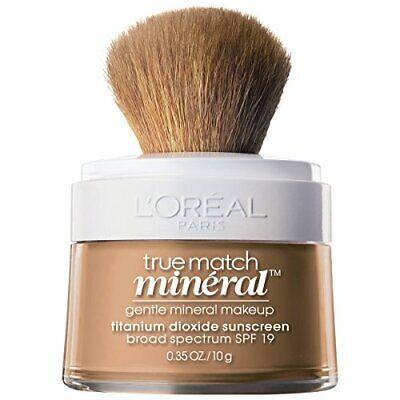 1pc Loreal True Match Mineral Foundation, Creamy Natural, 0.35 oz