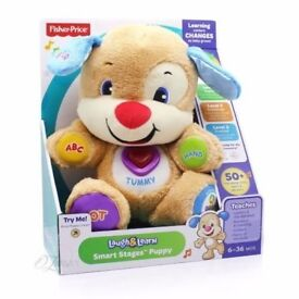 FISHER PRICE LAUGH AND LEARN PUPPY 50+ PHRASES BRAND NEW.