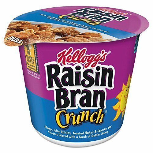 Kelloggs Raisin Bran Crunch, Single Servings, 2.8 Ounce , 6 Count
