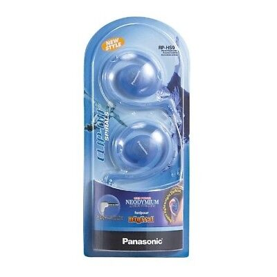 Panasonic RP-HS9-A Stereo Headphone RPHS9 Blue