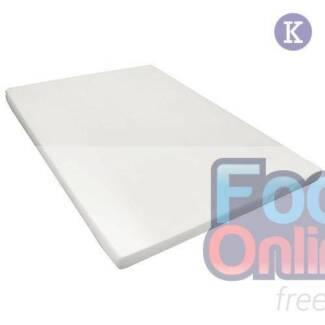 Visco Elastic Memory Foam Mattress Topper 8cm King