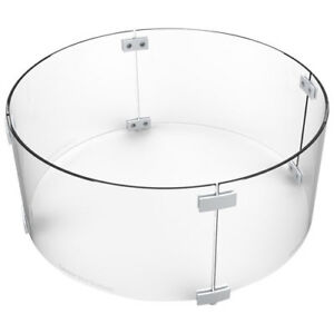 Brand New Paramount Round Fire Pit Table Wind Screen