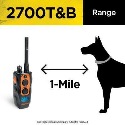Dog Beeper Collar - Dogtra 2700 T&B Remote Dog Trainer + Beeper Collar System Train & Beep by Dogtra