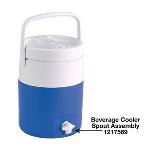 COLEMAN-BEVERAGE-COOLER-REPLACEMENT-SPOUT-ASSEMBLY