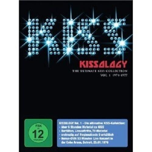 KISS - Kissology Vol.1 - 1974-1977  (3-DVD / Detroit) BOXDVD
