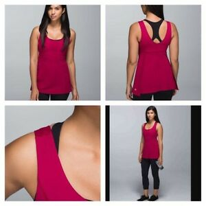 Lululemon Bumble Berry Tunic Tank!