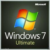 Windows 7 Ultimate Full Version