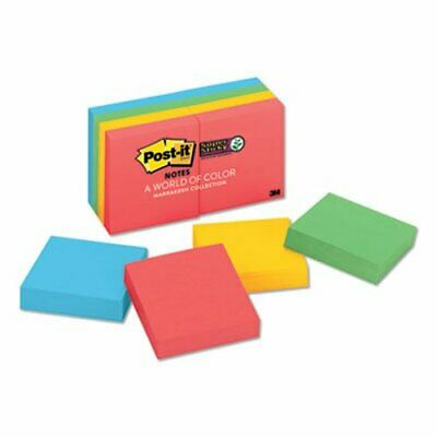 Post-it Super Sticky Notes 2 X 2 Marrakesh Colors 8 Pads Mmm6228ssan