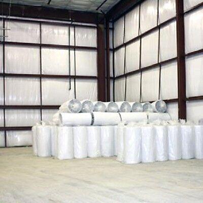 500sqft Reflective Solid White Foil Foam Core 14 Inch Insulation Barrier 4x125