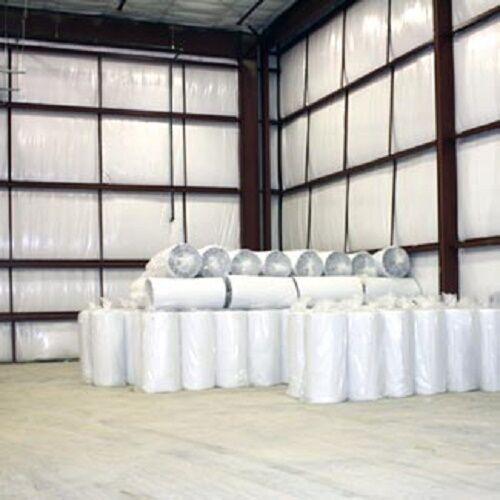 250sqft Reflective Solid White Foil Foam Core 1/4 inch Insulation Barrier 4x62.5