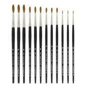 Sable Watercolor Brushes