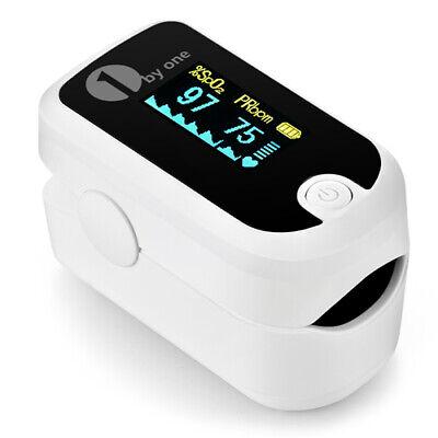 1byone Fingertip Pulse Oximeter Finger Blood Oxygen Saturation Monitor Spo2 Fda