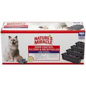 NATURES MIRACLE FILTER & RECEPTACLE COMBO PACK