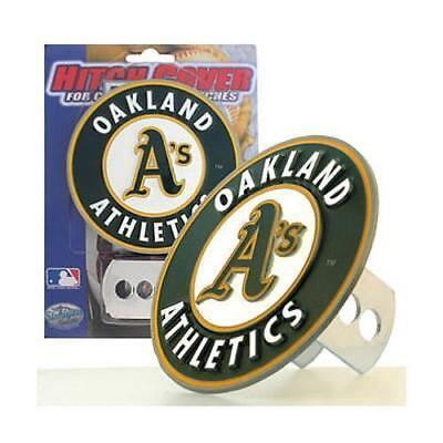 Oakland A's Athletics 3-D Metal Logo Hitch Cover MLB Licensed - Oakland Athletics Metal