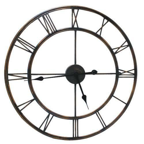 outdoor wall clock ebay