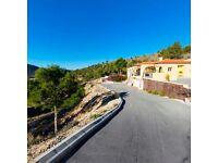 Wonderful Family Villa, Finestrat, Alicante, Costa Blanca, set in 13,300mts.