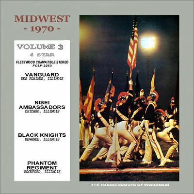 1970 Midwest Vol 3  Drum Corps Cd Des Plains Vanguard