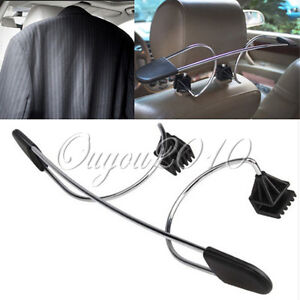 Car-Auto-Seat-Headrest-Clothes-Coat-Suit-Jacket-Stainless-Metal-Hanger-Holder
