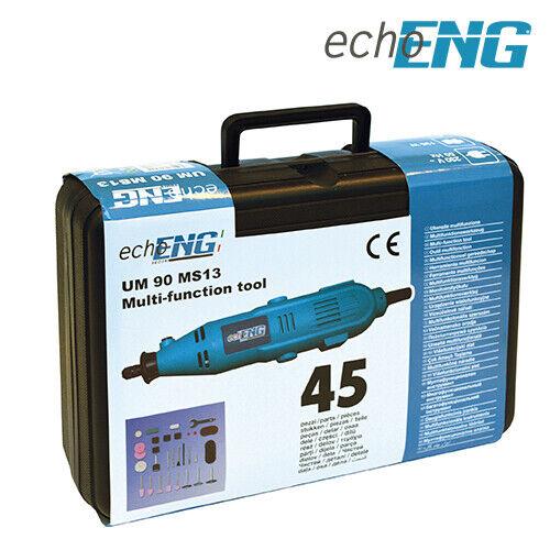 Mini trapano elettrico smerigliatrice 140W alta velocità valigetta UM 90 MS13