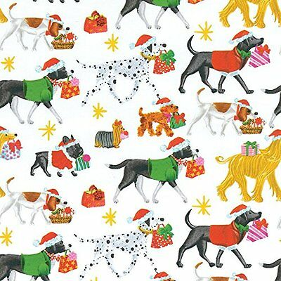 Entertaining with Caspari Continuous Roll of Gift Wrapping Paper, Christmas ,