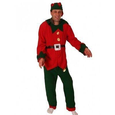 Elf Suit  Santa's Little Helper Christmas Xmas Fancy dress Costume REDUCED - Santa Suit Sale