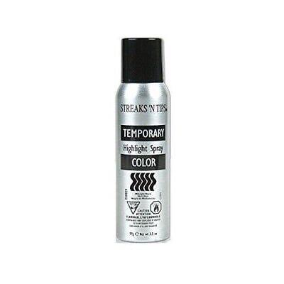 Streaks N' Tips Temporary Color Highlight Spray - Midnight Black