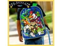 Official Ben 10 Character Ex-Large School Backpack